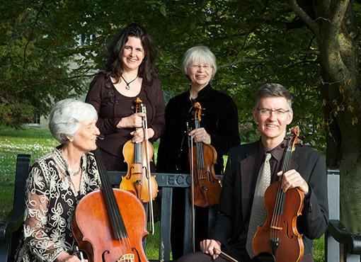 Divertimento String Quartet, Mary Eade, Lindsay Braga, Andrew Gillett, Vicky Evans