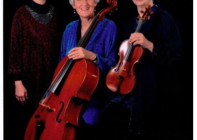 Divertimento Piano Trio, Mary Eade, Vicky Evans & Margaret Lynn