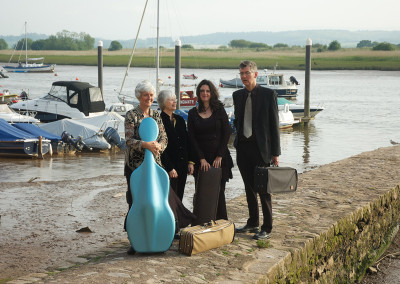 Divertimento String Quartet Topsham May 2014
