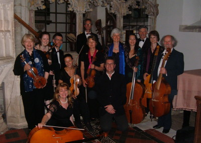 Divertimento Ensemble during their series of Bach Brandenburg concerts