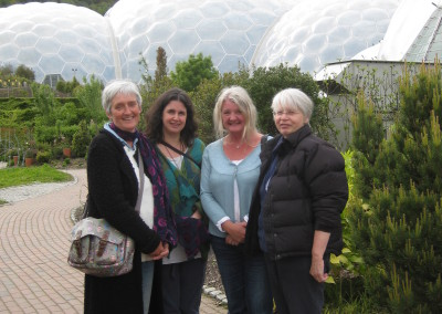 The Quartet playing at The Eden Project